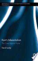 Kant s Inferentialism