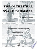 The Orchestral Snare Drummer Book PDF