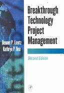 Breakthrough Technology Project Management Book