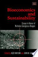 Bioeconomics and Sustainability