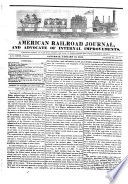 American Railroad Journal, and Advocate of Internal Improvements