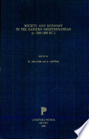 Society and Economy in the Eastern Mediterranean  C  1500 1000 B C  Book