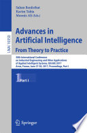 Advances in Artificial Intelligence  From Theory to Practice