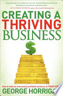 Creating a Thriving Business Book