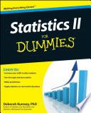 """""""Statistics II for Dummies"""" by Deborah J. Rumsey"""