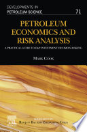 Petroleum Economics and Risk Analysis