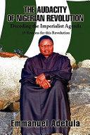 The Audacity of Nigerian Revolution