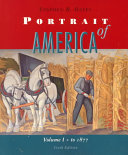 Portrait of America  From before Columbus to the end of Reconstruction Book PDF