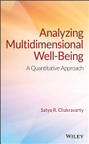 Analyzing Multidimensional Well Being