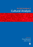 The SAGE Handbook of Cultural Analysis