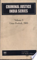 Criminal Justice India Series Vol 3 Hb