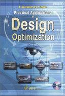 Practical Applications Of Design Optimization Book PDF