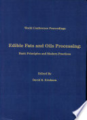 Edible Fats And Oils Processing Book PDF