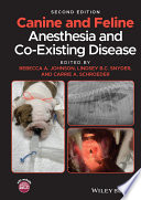 Canine and Feline Anesthesia and Co Existing Disease
