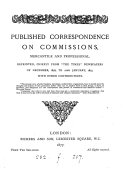 Published correspondence on commissions  mercantile and professional  Repr   chiefly from The Times newspapers of Dec   1876  to 22nd Jan   1877  with other contributions