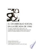 El desarrollo social en la década de 1990