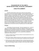 The Secretary of the Army's Senior Review Panel Report on Sexual Harassment: Volume 2 [Pdf/ePub] eBook