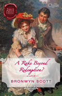 A Rake Beyond Redemption  How to Disgrace a Lady How to Ruin a Reputation Book