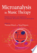 Microanalysis in Music Therapy Book