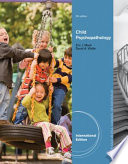 """Abnormal Child Psychology, International Edition"" by Eric Mash, David Wolfe"