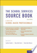 The School Services Sourcebook  Second Edition Book