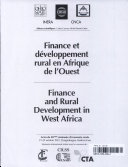 Finance and Rural Development in West Africa ebook