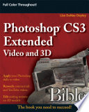 Photoshop Extended Video and 3D Bible