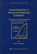 Superplasticity in Advanced Materials  ICSAM 97