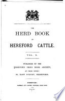 The Herd Book of Hereford Cattle