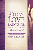 Pdf The 30-Day Love Language Minute Devotional Volume 1 Telecharger