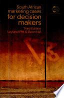 South African Marketing Cases For Decision Makers Book PDF
