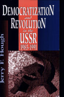 Democratization and Revolution in the USSR, 1985-91 Pdf/ePub eBook