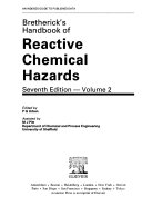 Bretherick s Handbook of Reactive Chemical Hazards Book