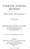 Sabbath Evening Readings on the New Testament ebook