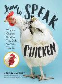 How to Speak Chicken Book