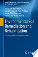 Environmental Soil Remediation and Rehabilitation