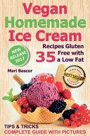 Vegan Homemade Ice Cream