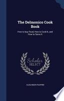 The Delmonico Cook Book