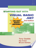 Starting Out with Visual BASIC .NET