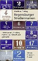 Regensburger Straßennamen