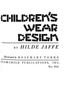 Children s Wear Design Book