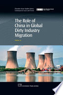 The Role Of China In Global Dirty Industry Migration Book PDF