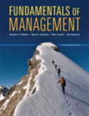 Fundamentals of Management  Eighth Canadian Edition