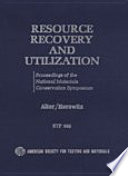 Resource Recovery and Utilization