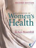 Cover of Handbook of Women's Health