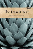The Desert Year Pdf/ePub eBook
