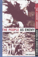 The People as Enemy