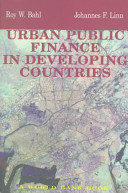 Urban Public Finance in Developing Countries