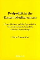 Realpolitik in the Eastern Mediterranean