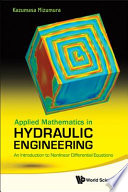 Applied Mathematics in Hydraulic Engineering